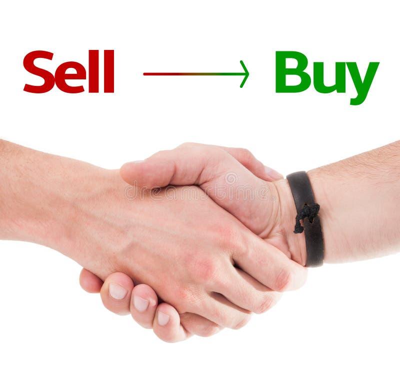 Concetto dell'affare di vendita immagine stock