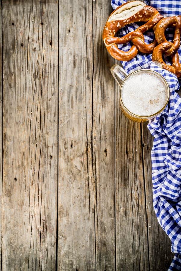 Concetto dell'alimento di Oktoberfest immagine stock libera da diritti