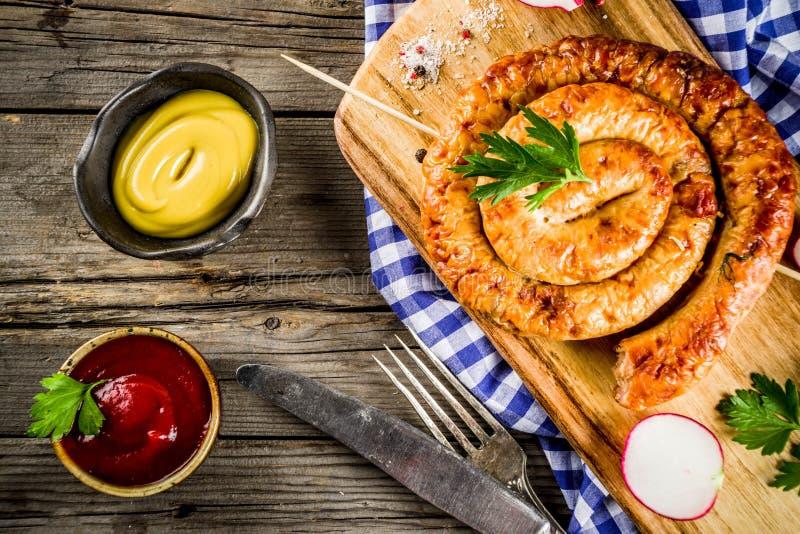 Concetto dell'alimento di Oktoberfest fotografie stock