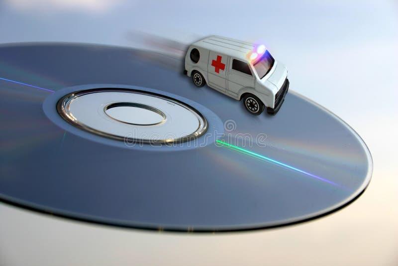Concetto dell'ambulanza - sanità di tecnologie immagini stock