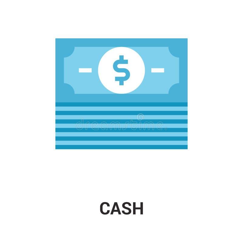 Concetto dell'icona dei contanti illustrazione vettoriale