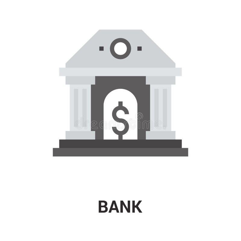 Concetto dell'icona della Banca illustrazione vettoriale