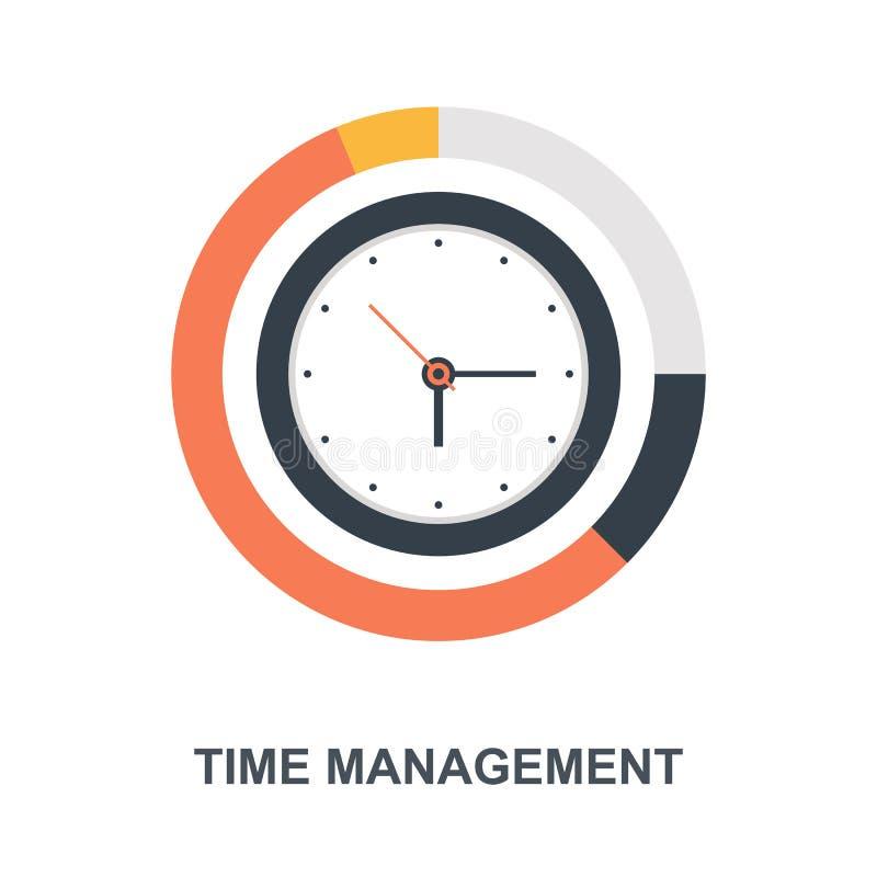 Concetto dell'icona della gestione di tempo royalty illustrazione gratis
