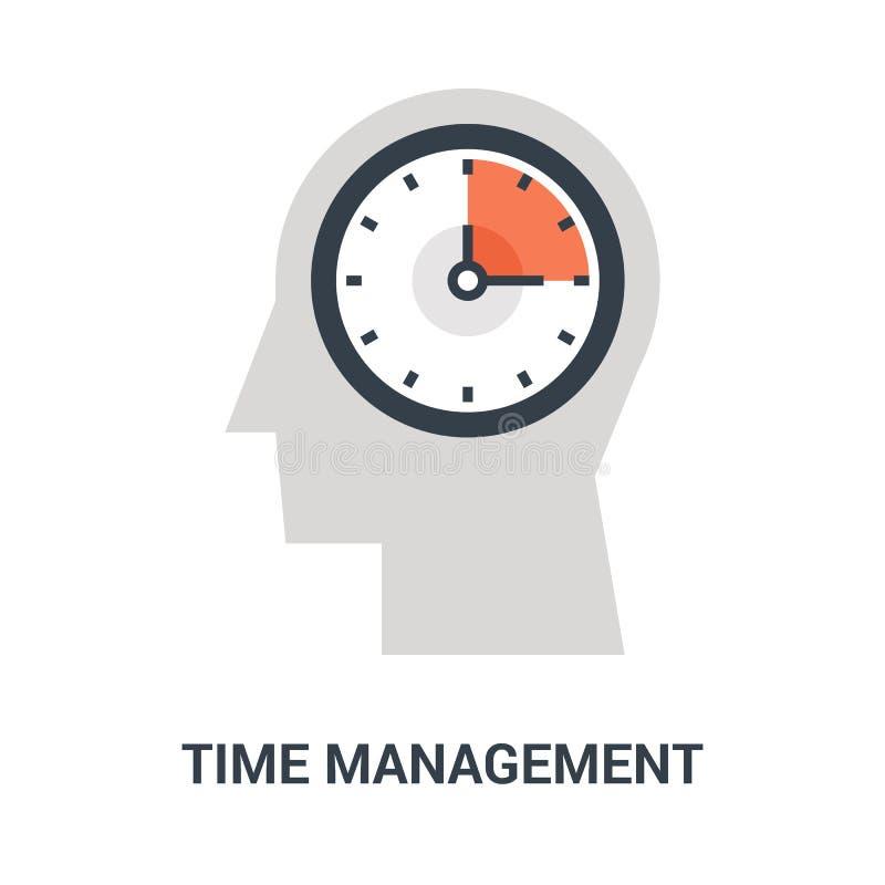 Concetto dell'icona della gestione di tempo illustrazione di stock