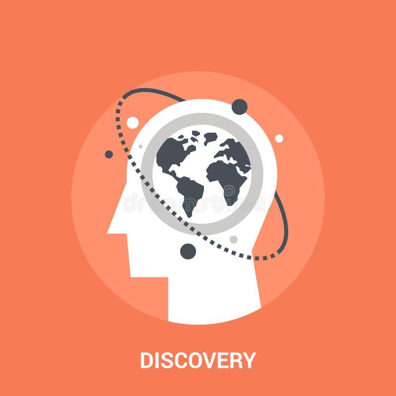 Concetto dell'icona di scoperta illustrazione di stock