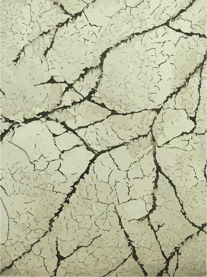 Concetto dell'illustrazione di vettore di struttura di marmo d'annata Priorità bassa variopinta illustrazione di stock