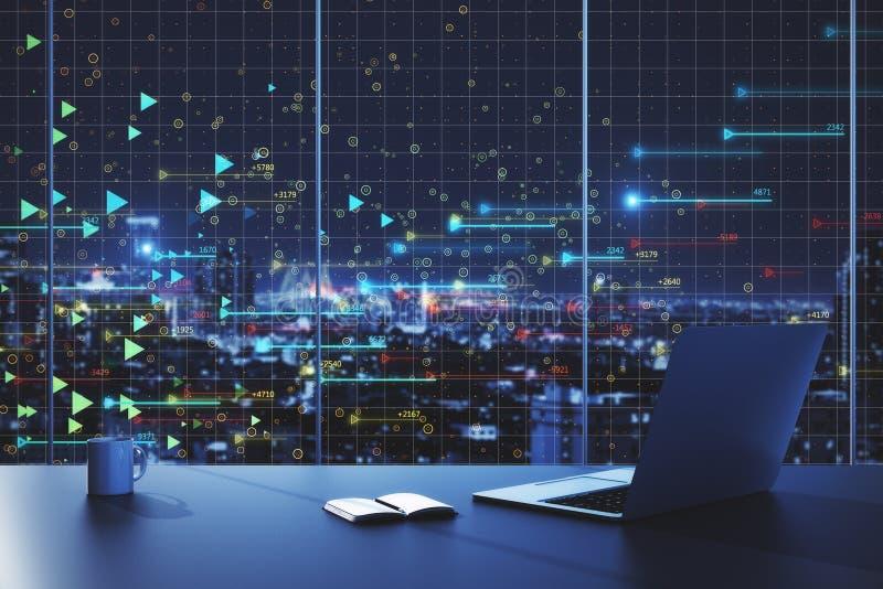 concetto dell'innovazione e di tecnologia immagini stock