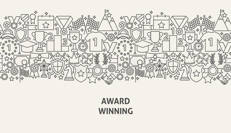 Concetto dell'insegna del premio royalty illustrazione gratis
