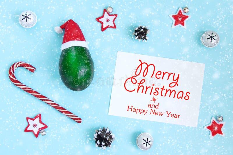 Concetto della cartolina di Natale con spazio libero per iscrizione accogliente fotografie stock libere da diritti
