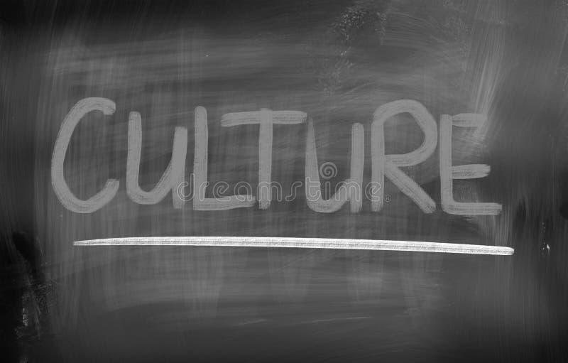 Concetto della cultura immagine stock
