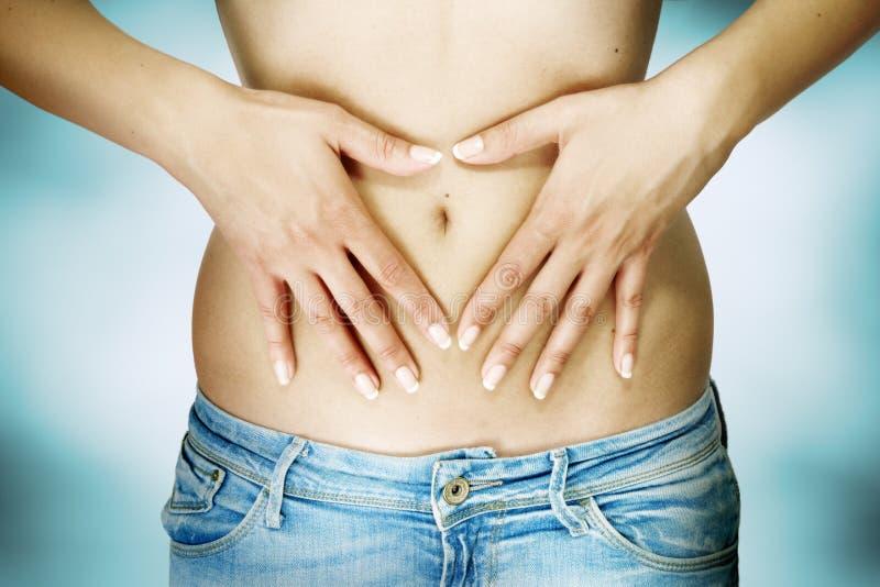 Concetto della dieta e della fertilità immagini stock libere da diritti