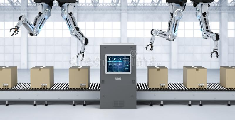 Concetto della fabbrica di automazione