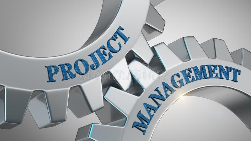 Concetto della gestione di progetti illustrazione vettoriale