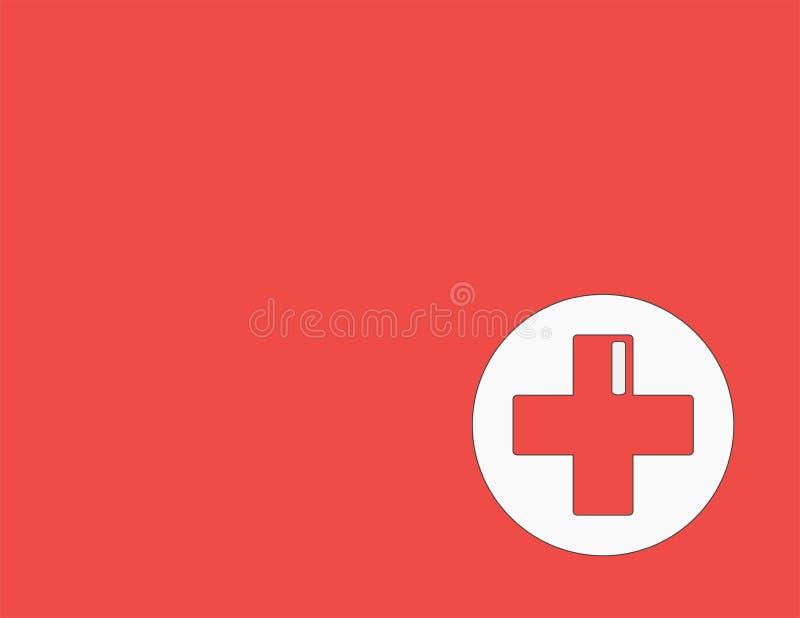 Concetto della medicina doni il sangue e conservi la vita Amore di elasticità di donazione insieme dell'autoadesivo di ullustrati royalty illustrazione gratis