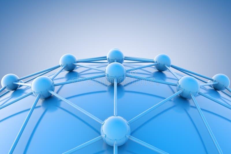 Concetto della rete illustrazione vettoriale