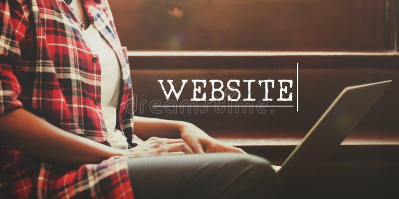 Concetto della rete del collegamento di sviluppo di web hosting immagine stock libera da diritti
