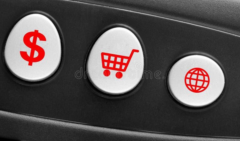 Concetto della tastiera di calcolatore fotografie stock