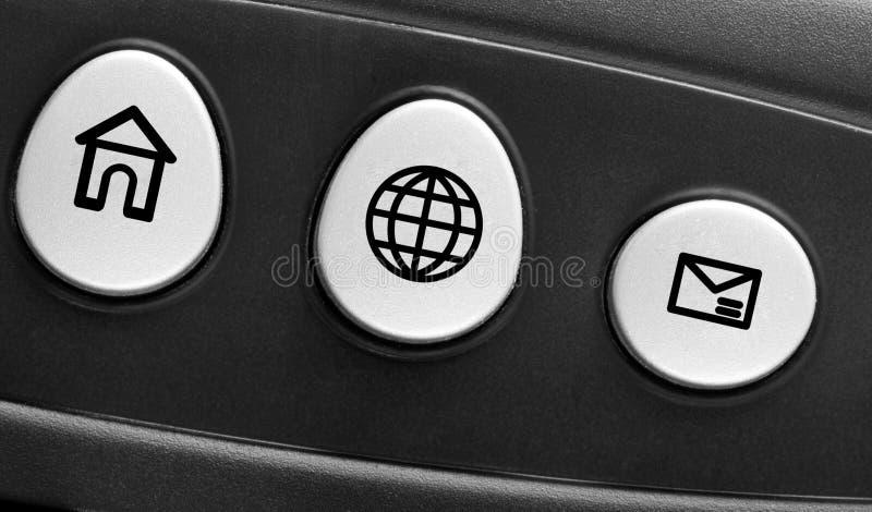 Concetto della tastiera di calcolatore fotografia stock libera da diritti
