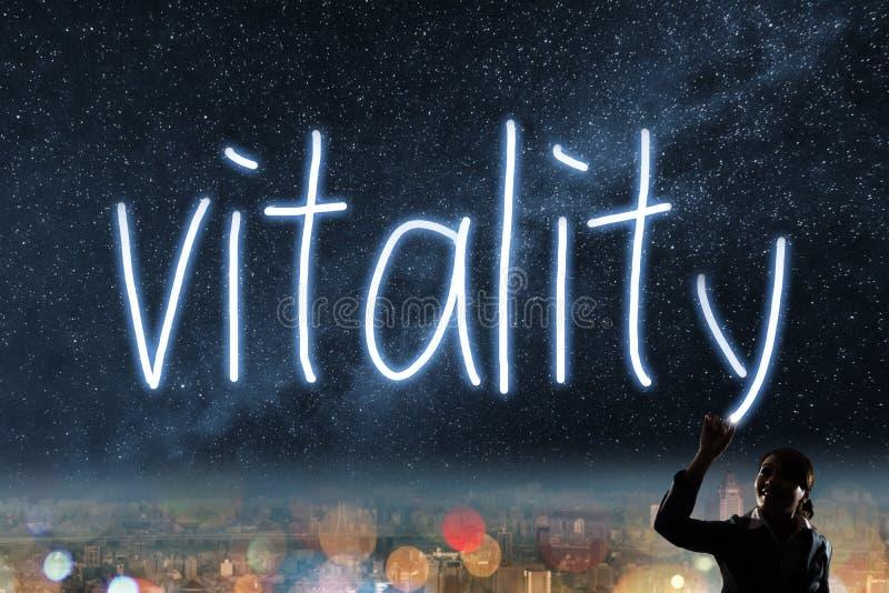Concetto della vitalità immagine stock