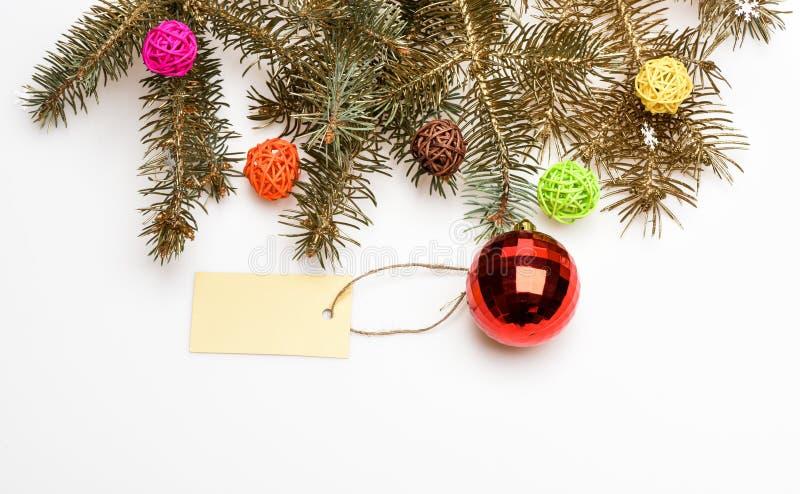 Concetto delle decorazioni di Natale Tutto che dobbiate decorare l'albero di Natale Prepari per il Natale Natale fotografia stock