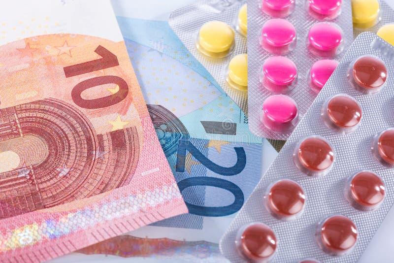 Concetto delle spese sanitarie immagini stock libere da diritti