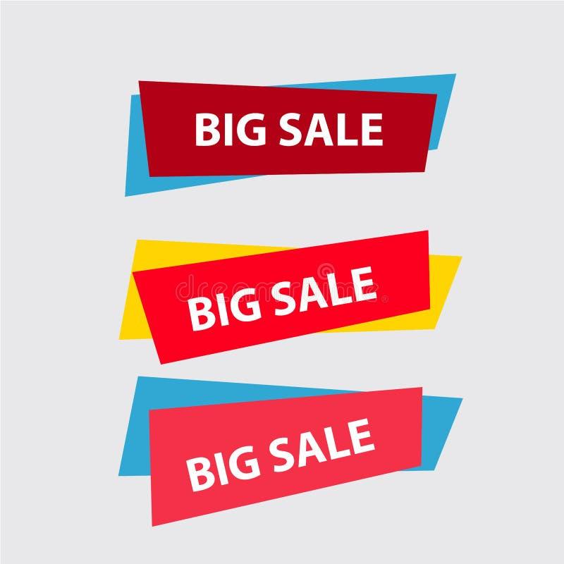 Concetto di acquisto Vendita, vendendo, migliore prezzo illustrazione vettoriale