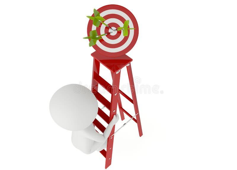 Concetto di affari di successo illustrazione vettoriale