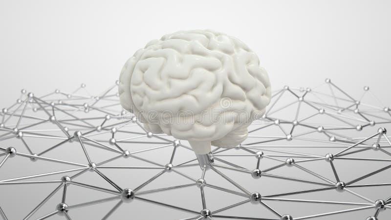 Concetto di AI royalty illustrazione gratis