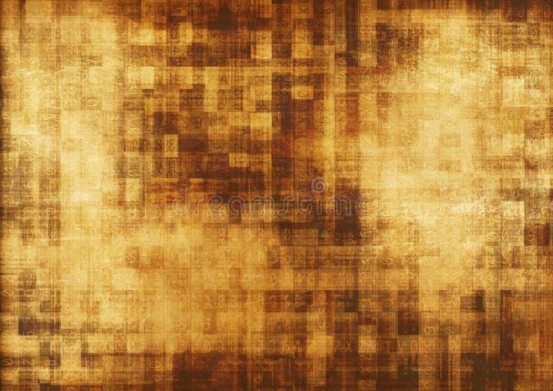 Concetto di algoritmo di Digital illustrazione vettoriale