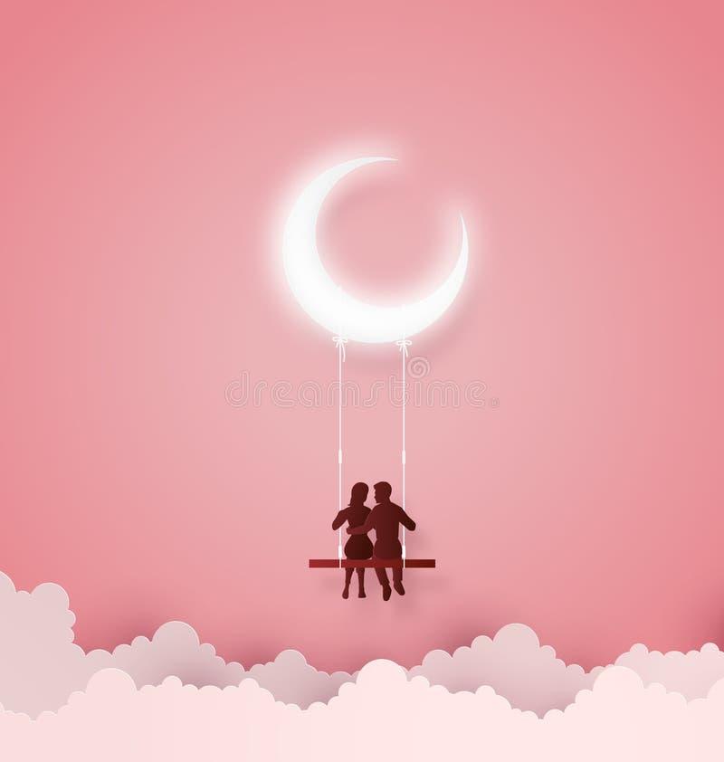 Concetto di amore e del giorno di S. Valentino royalty illustrazione gratis