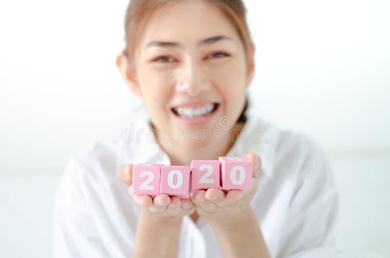 Concetto 2020 di anno immagini stock
