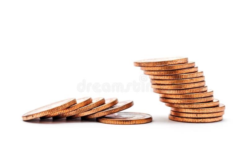 Concetto di Bankrucy, soldi di risparmio e finanza di conto immagini stock libere da diritti