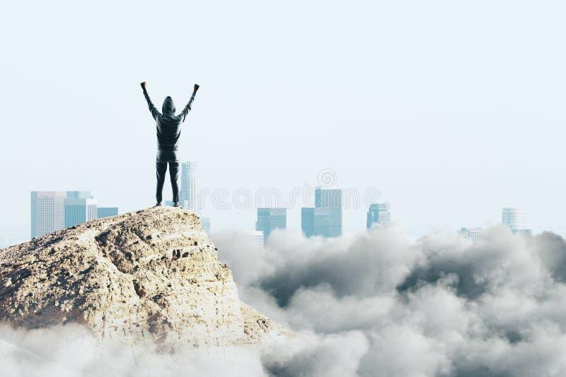 concetto di celebrazione e di successo immagine stock libera da diritti