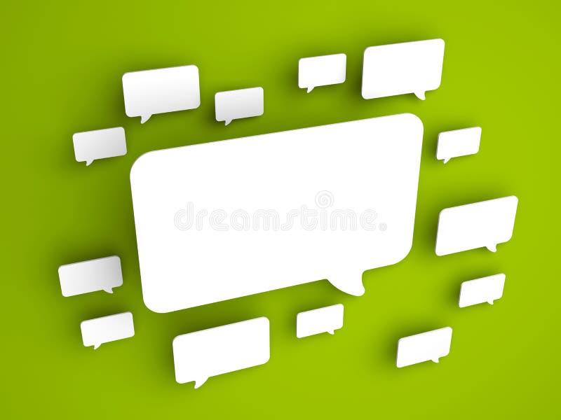 Concetto di comunicazione illustrazione vettoriale