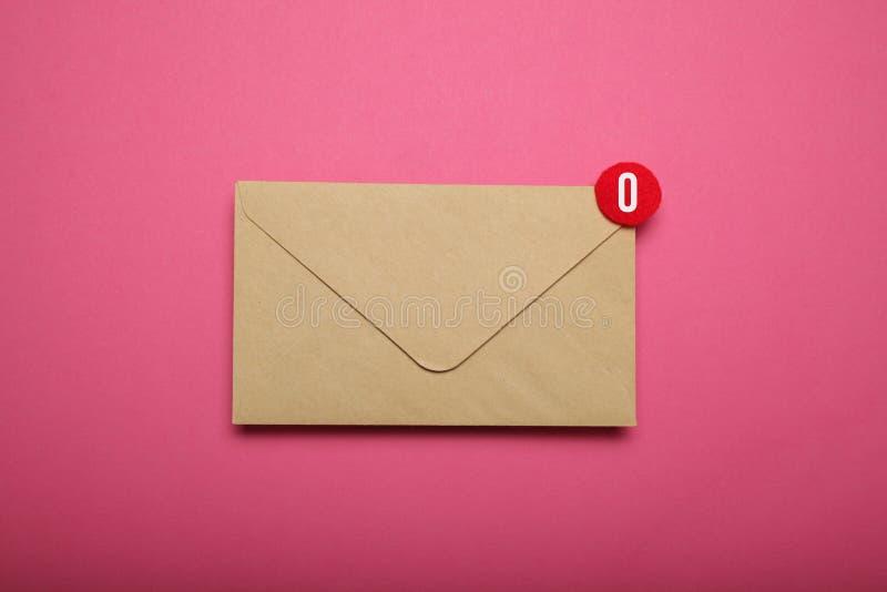 Concetto di comunicazione di indirizzo di contatto, collegamento immagine stock