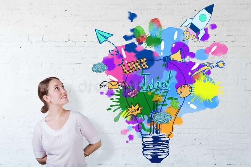 Concetto di creatività royalty illustrazione gratis
