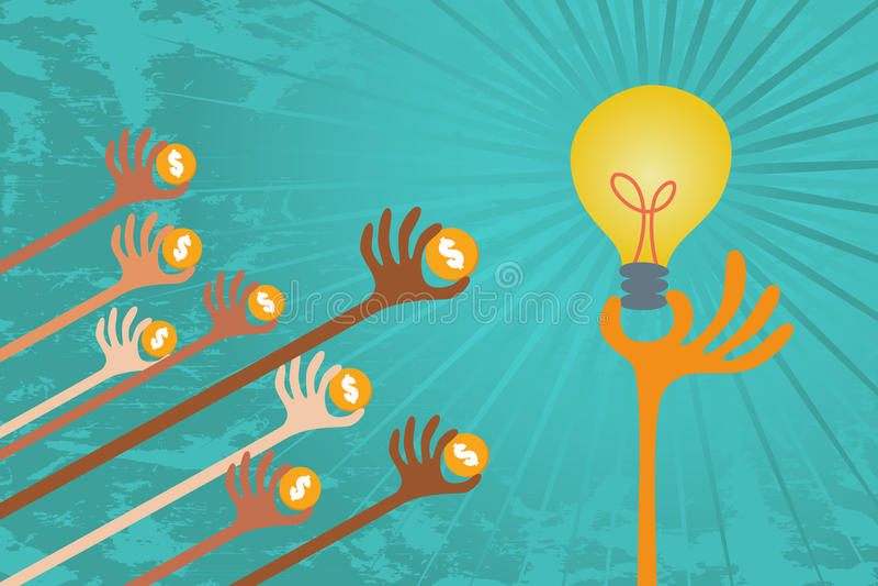 Concetto di Crowdfunding