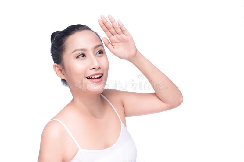 Concetto di cura di pelle e della gioventù Stazione termale e wellness fotografie stock libere da diritti