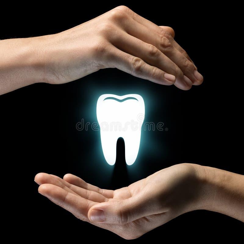 Concetto di cure odontoiatriche fotografie stock libere da diritti