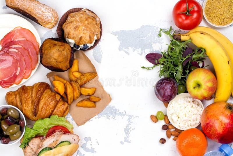 concetto di digiuno di dieta di 5:2 fotografia stock