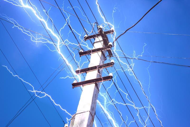 Concetto di elettricità fotografie stock