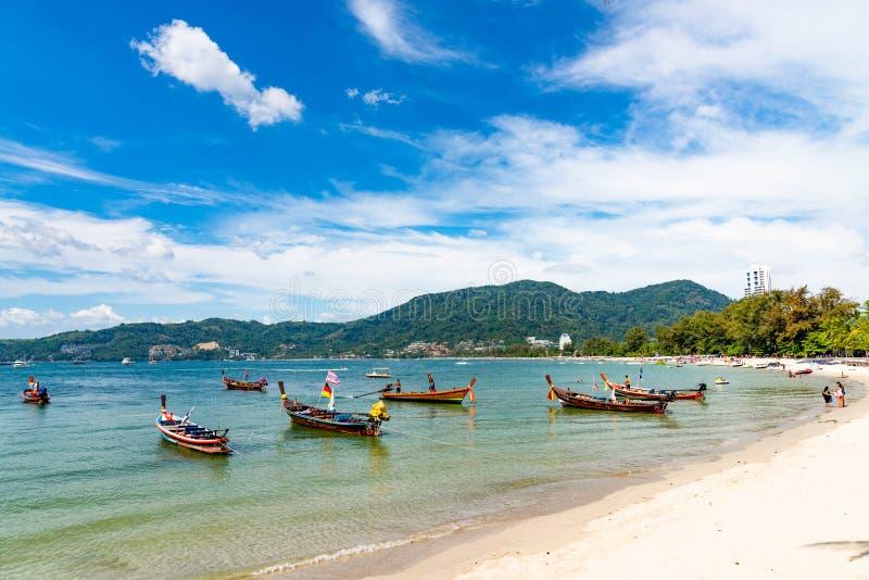 Concetto di estate, Phuket, Tailandia - gennaio 20,2018: variopinto della s immagine stock