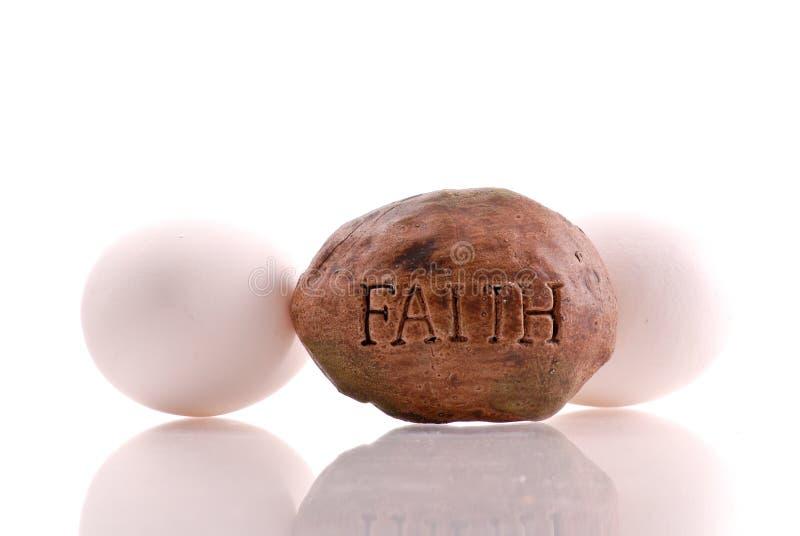 Concetto di fede nella religione di Pasqua fotografia stock