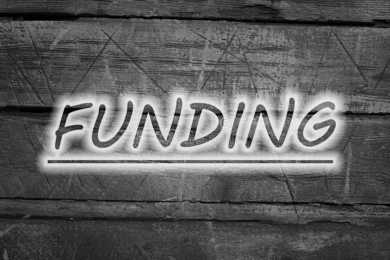 Concetto di finanziamento immagini stock