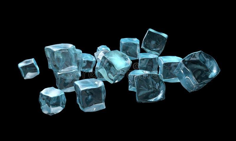 Concetto di ghiaccio illustrazione di stock
