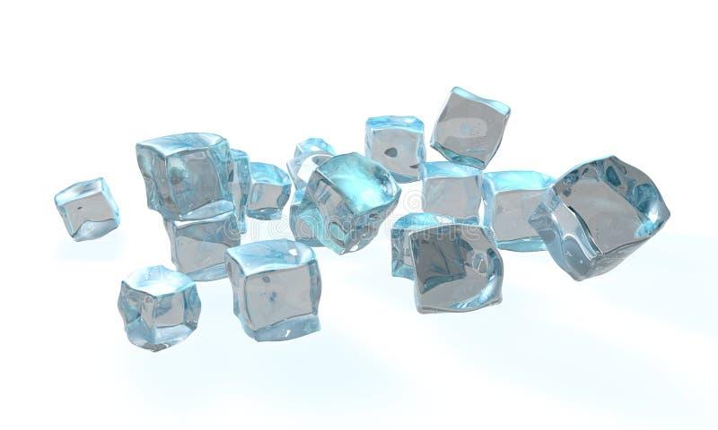 Concetto di ghiaccio illustrazione vettoriale