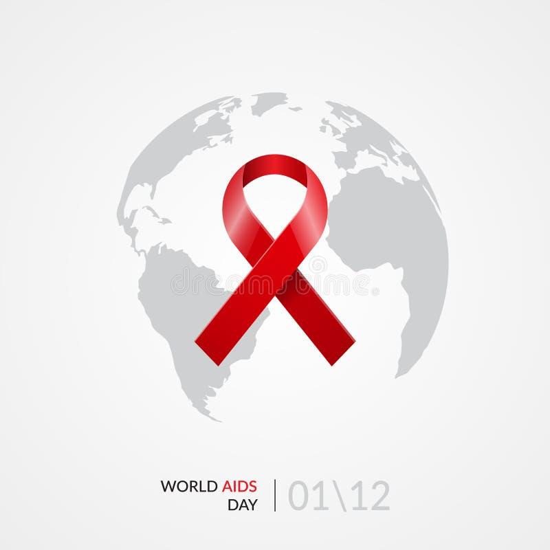 Concetto di Giornata mondiale contro l'AIDS royalty illustrazione gratis