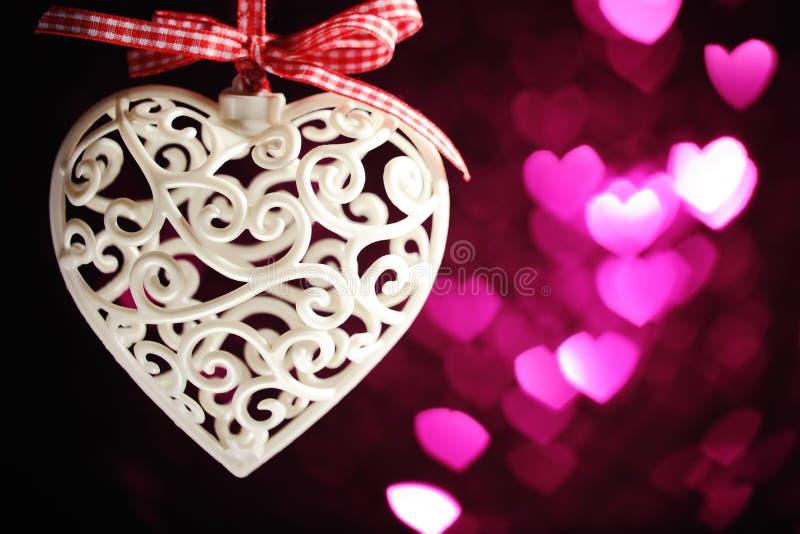 Concetto di giorno del biglietto di S. Valentino immagini stock