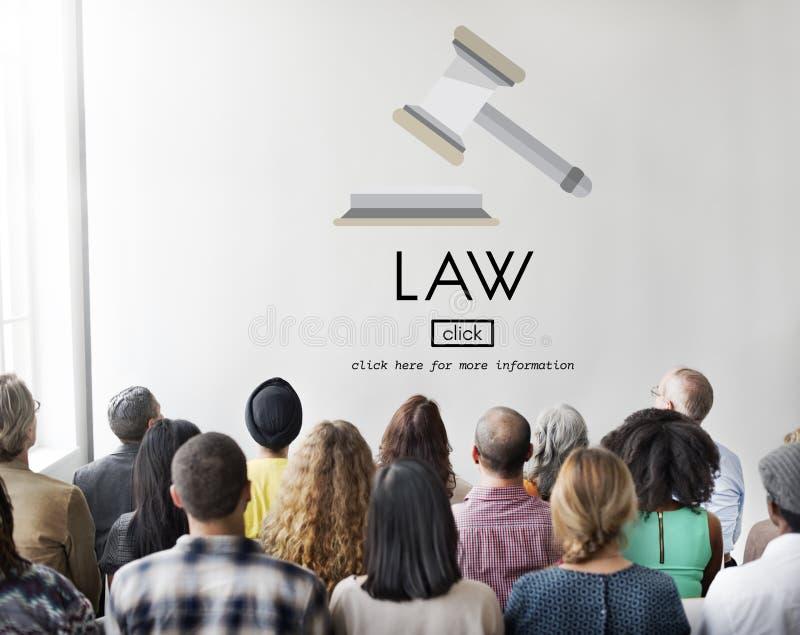Concetto di Governance Legal Judge dell'avvocato di legge fotografie stock