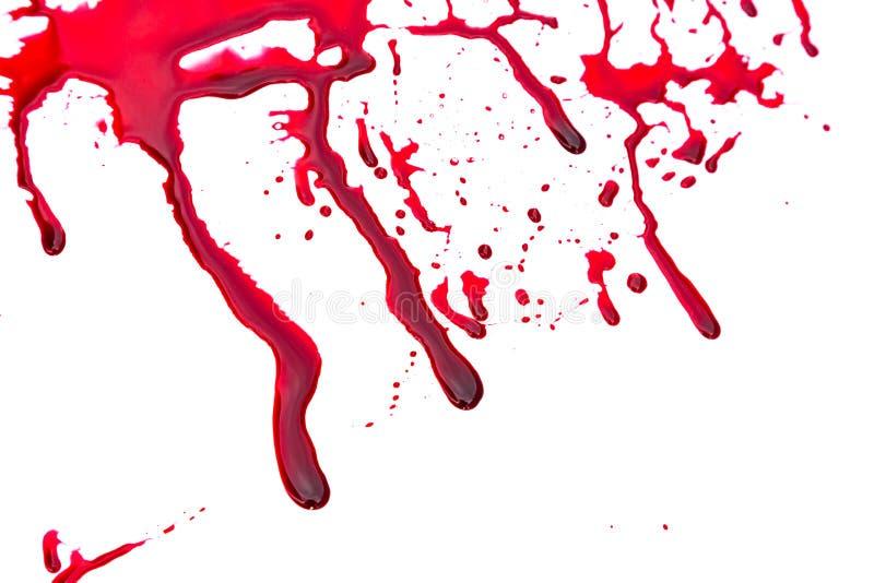 Concetto di Halloween: Sgocciolatura del sangue illustrazione vettoriale
